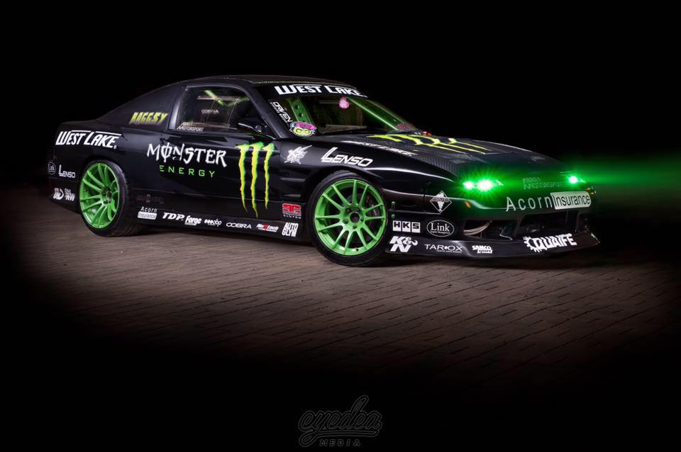 Monster Energy Drift Team Competition Clutch